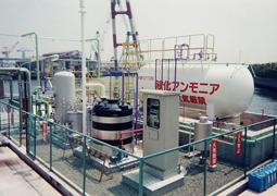 液化アンモニア設備