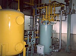 塩素ガス設備