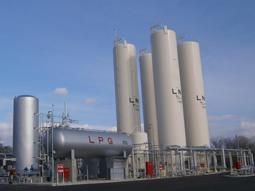 都市ガス用LNG供給設備