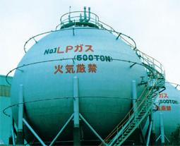 工業用LPガス供給設備