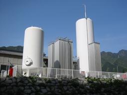 都市ガス用LPガス供給設備